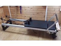 Align A2R Pilates Reformer with legs - £1850 new - virtually brand new condition