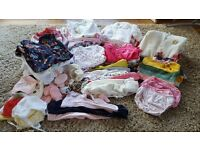 Big bundle (99 items) girls clothes (Newborn to 3 months) Next, M&S, John Lewis, H of F, Monsoon etc