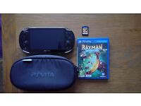 Playstation Vita, Mint Condition, Case, Games