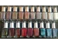 Mixed lot of Leighton Denny and Nails Inc nail polishes