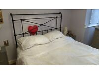 Wrought Iron King Size Double Bed