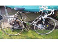 Vintage viking race bike..