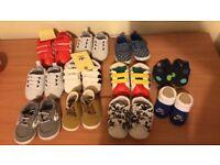 Baby pram shoes