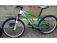 "Saracen TT comp mountain bike 16"" frame 26"" wheels"