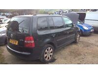 VW TOURAN 1.6 'BAG' 2004 - *BREAKING*