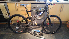 GT IDXC 3.0 Mountain Bike with lots of upgrades *Swap for Motorcycle trailer