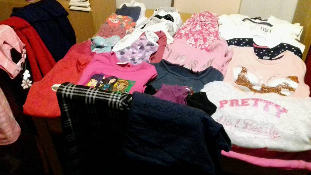 Girls 6-7 years clothes bundle in excellent condition