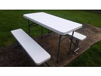 Table Bench Chair Set