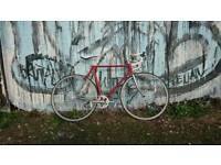 Vintage single speed road bike 56cm Ishiwata 022 steel