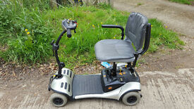 NEW BATTERIES Shoprider Cameo Mobility Scooter Car Boot
