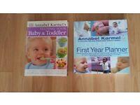 Annabel Karmel Baby Books £2 each