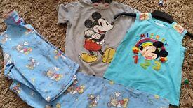 Boys age 5-6 mickey clothes bundle