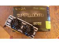 Evgea GTX 1070 SC 8GB S for spares and repairs NOT WORKING