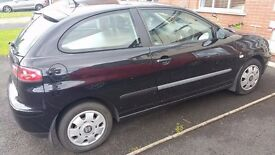 Seat Ibiza 2003 3 door hatchback