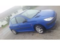 Wanted.. peugeot 206's non runners / no mot