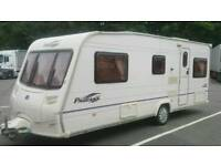 2005 Bailey vendee fixed bed caravan 4 berth ready to go