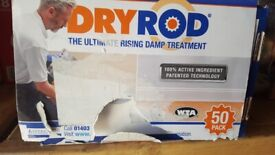 Dryrod Damp Proofing Rods Pack