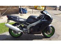 Kawasaki zx6r matt black ideal first bike