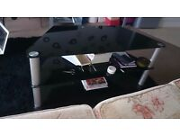 Sofa, coffee table, tv stand