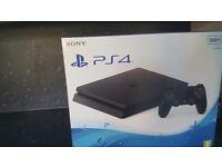 Playstation 4 Brand new unused- 500gb slim design