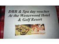 DBB & Spa Day for 2 at Westerwood Hotel, Glasgow