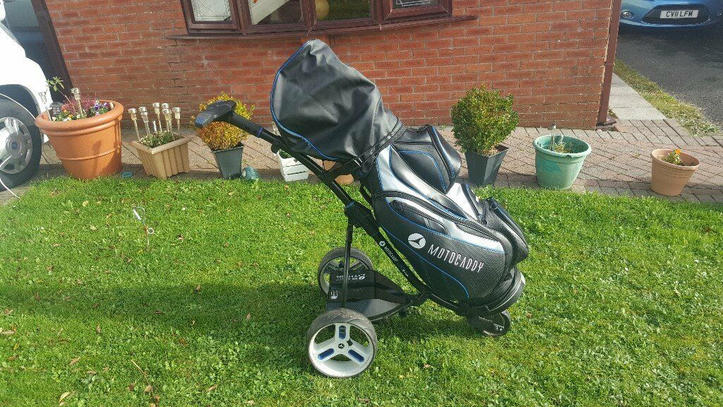 ABSOLUTE BARGAIN, MOTOCADDY S3 PRO TROLLEY