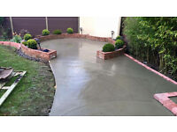 Labour Services Offered – Concreting, driveways, resin bound paving, hard landscaping.