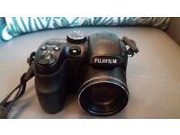 Fujifilm FinePix S1500 Digital Camera - Black (10MP, 12x Optical Zoom) 2.7 inch LCD