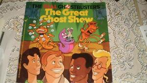 Ghostbusters book - The Great Ghost Show The Real Ghostbusters