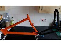 "Mountain Bike. KONA ""Stinky"" Custom built, triple plates etc, Excellent condition."