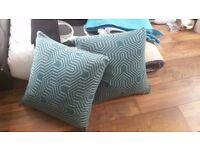 Cushion Cushions Teal Turquoise Duck Egg Duckegg