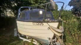 18ft Ventura Boat £200