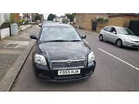 2005 (55 PLATE) TOYOTA AVENSIS 1.8 T3-X ONLY 63,000 MILES FULL SERVICE HISTORY
