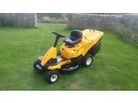 ride on mower sit on mower Cub Cadet first £650 no offers