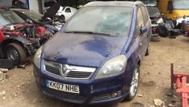 Vauxhall Zafira 1.9 150bhp BREAKING