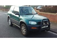 Toyota Rav 4. 3 Door. Green. Immaculate. Must be seen. swap sell why??