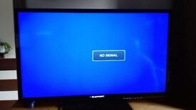 Blaupunkt 32 inch Full HD Tv - As new with box, remote and instructions 6 weeks old