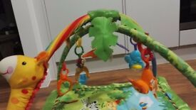 Fisher Price Rainforest Baby Gym Play Mat