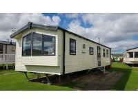 2015 Salsa Eco 3 Bedroom 8 Berth Caravan in Haven Berwick (with back door storage)