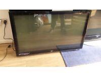 """LG 50"""" 1080p Full HD Freeview Plasma TV £130"""