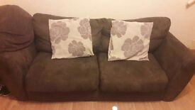 2 sofas- £60 for both collection only, please message for more details.