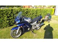 Yamaha fjr 1300 2006 blue 2owners very clean new battry +alarm tankcover spare keys +redkey