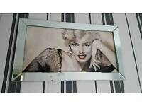 Maralyn monroe mirror beveled glass
