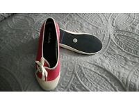 ladies moshulu flat summer shoes size 41, never worn