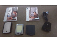 Palm V organiser still in good working order with charger, instruction manuals etc