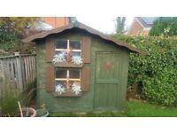 Wooden Playhouse Snowdrop Cottage