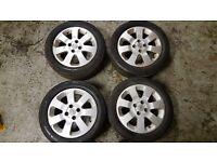 "Vauxhall 15"" Sxi Alloy Wheels (Nova, Corsa, Astra, Combo)"
