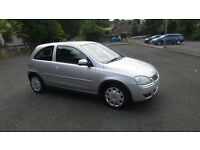 late 2004 vauxhall Corsa Design 1.2 16v.....ONLY 54,000 MILES.....great condition.