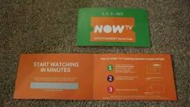 NowTV 6 month entertainment pass