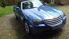 Chrysler Crossfire Convertible 2004 long MOT 2200ono
